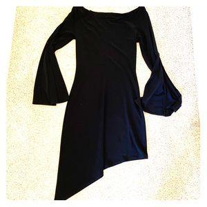 Vintage WhiteHouse BlackMarket asymmetrical dress
